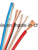 Câbles de haut-parleur de la qualité 2cores 12AWG 14AWG 16AWG 18AWG pour l'usage de dans-Mur