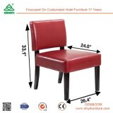 Silla de salón acolchada de tela, silla de diseñador de diseño moderno, silla de ocio personalizada