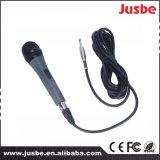 Microfono dinamico cardioide dell'alto di sensibilità di Jusbe sistema acustico del cavo per il congresso di canto