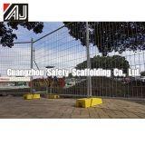 Frontière de sécurité de Temorary de bonne qualité, panneau de frontière de sécurité pour le marché de l'Australie
