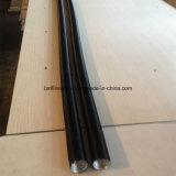 Tubo di alluminio di protezione contro il calore di Agaw della fibra di vetro del materiale di isolamento