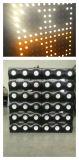 lumière blanche/ambre de 36X3w de DEL de Pixel de matrice de fond d'oeillère d'effet