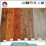 vloer van pvc van de Kleuren van het Gebruik van 2.0mm de Binnenlandse Ruimte Houten Vinyl Commerciële