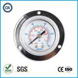 Gaz ou liquide de pression d'acier inoxydable de manomètre de pression de 006 installations