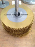 Лезвие круглой пилы высокого качества 300X2.0X32mm HSS M2 для вырезывания пробки металла