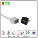 Personalizzato 4 pin magnetico connettore per alimentazione