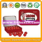 食品包装のための甘いキャンデーの金属ボックス、キャンデーの錫ボックス