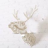 Decoração creativa simples nova da parede que pendura artes e ofícios de madeira