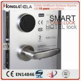 Fechamento Keyless eletrônico do cartão do quarto da porta do hotel (HD8018)