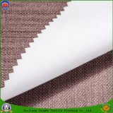 Tissu de rideau en polyester tissé par arrêt total imperméable à l'eau à la maison de franc de textile