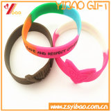 Подгонянное резиновый Wirstband, браслет способа для подарков