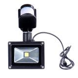 30W PIRの動きセンサーが付いている太陽LEDの洪水ライト街灯