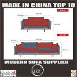 Софа ткани драпирования комбинации мебели низкой цены Foshan