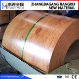 Bobine en acier estampée avec la configuration en bois