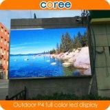 Alto schermo di visualizzazione esterno del LED di colore completo di definizione P4