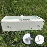 3つの働くモードの新しいモデル3.5W 6000mAh 57 LEDの屋外の防水太陽動きの庭ライト