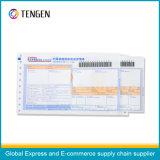 Kundenspezifischer Drucken-postalischer logistischer Barcode-Luft-Frachtbrief