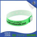 Crear el Wristband impermeable de Tyvek para requisitos particulares