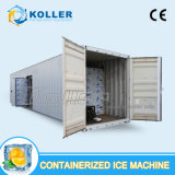 Leicht verschobener containerisierter Kühlraum für das Speichern des Fleisches und der Fische