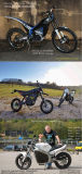 Motore approvato del Ce 5kw BLDC per la conversione elettrica della motocicletta