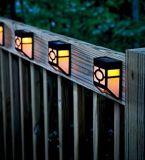 Luces accionadas solares para el jardín