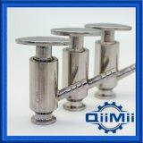Sanitair Vastgeklemd /Welded die de Klep van de Bemonstering van het Roestvrij staal met Pakking PTFE gieten