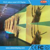 Schermo di visualizzazione locativo pieno dell'interno del LED di colore P4.81 per fare pubblicità