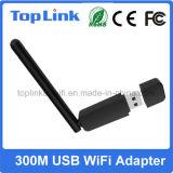 Top-GS07 Dual cartão de rede sem fio do USB 2.0 300Mbps WiFi da faixa Rt5572 para IP STB