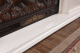 ヨーロッパの白い切り分けるLEDはつける暖房の電気暖炉(320SB)を