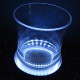 Cubo de hielo LED plástico de Refrigeración / Iluminado / Plaza de contenedores de hielo