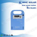 キャンプのためのWhc 6V5w再充電可能なLEDのSolar Energyキット