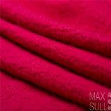 Tessuto delle lane della lavata della macchina di 100% per l'autunno nel colore rosso