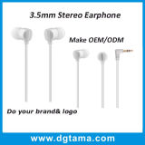 3.5mm InOhr Kopfhörer-Baß-Stereokopfhörer mit FernMic