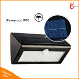 500lm는 태양 강화한 옥외 운동 측정기 검출기 정원 빛을 방수 처리한다