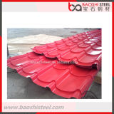 Hoja aislada azotea decorativa secundaria de acero de la prueba del escape de Baoshi