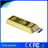 Por mayor hecho de oro USB barra de metal de palillo de memoria Flash de 8 GB