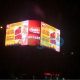 Шкаф индикации СИД полного цвета напольный рекламировать P5 для стены видеоего СИД