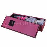 Contenitore impaccante di rettangolo del fiore di regalo Handmade di lusso del documento
