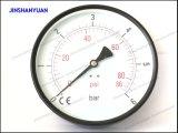 Schwarzes allgemeines Gpg-023 Druckanzeiger trockenes Stahlmanometer-Backtype
