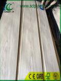 Quercia bianca tagliata parte superiore di legno naturale dell'impiallacciatura per mobilia, schede