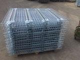Hengtuoはストレージラックのための溶接スチールワイヤーメッシュデッキ亜鉛メッキ