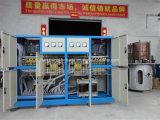 Forno di fusione di induzione per media frequenza per rame, ferro, acciaio, alluminio