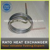 La chaleur d'acier inoxydable permutant le tube