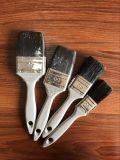Черная щетка краски щетинки с пластичной ручкой
