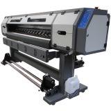 고해상 1.8m 비닐과 기치를 위한 Epson Dx5 맨 위 잉크 제트 Eco 1개의 용해력이 있는 인쇄 기계