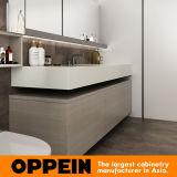 Oppein helle hölzerne Korn-Badezimmer-Möbel eingestellt (BC17-PVC01)