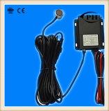 No tipo nivel de combustible ultrasónico Sensor1-5V, 4-20mA, RS232, detector llano ultrasónico opcional del contacto de combustible RS485