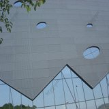 El panel de pared de aluminio de cortina del panel de aluminio de la alta calidad ISO9001 para la decoración con nuevo diseño incombustible
