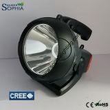 Nueva luz del flash de LED recargable 20W con 7.4V 6600mAh de litio