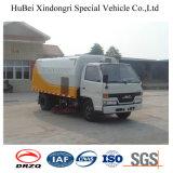 caminhão compato da vassoura de estrada de 3cbm Jmc Isuzu Euro3